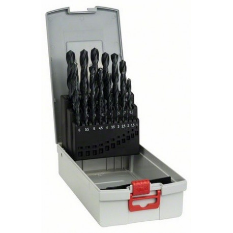 Brocas metal Bosch 19unids. HSS-R 1,0- 10mm