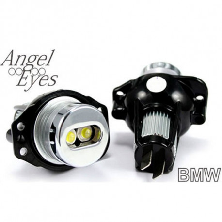 Pareja de Bombillas 1 Led Blanco Faros Angel Eyes para BMW