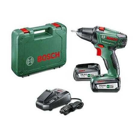 Atornillador a batería Bosch PSR 14(2 baterías)