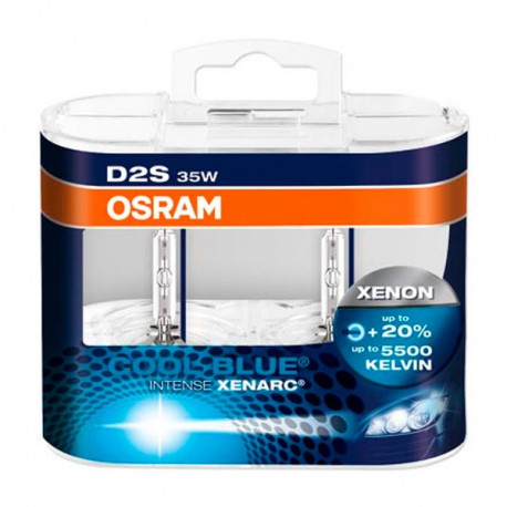 OSRAM XENARC COOL BLUE Intense D2S