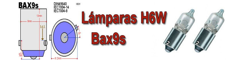 Bombillas H6W