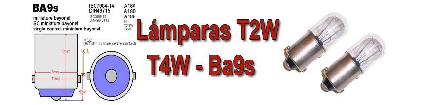 Bombillas BA9S