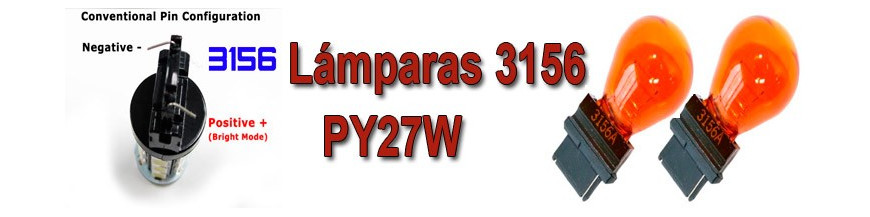 Bombillas PY27W-3156