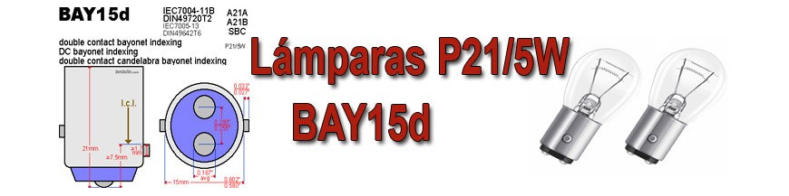 Bombillas BAY15D