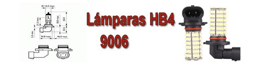 Bombillas HB4-9006