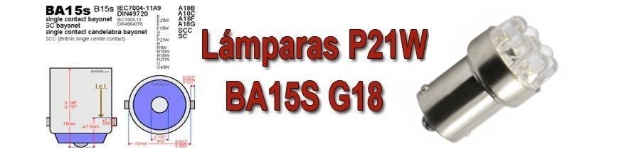 Bombillas BA15S G18