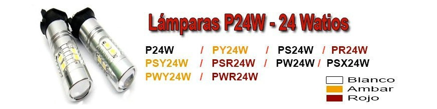 Bombillas PW24W