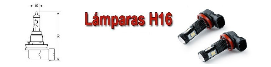 Bombillas H16 PS19w