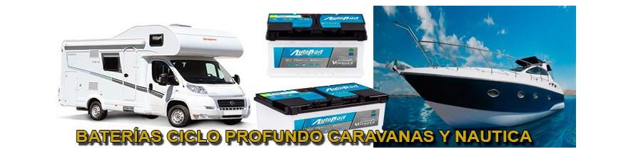 Baterías Caravanas y Náutica
