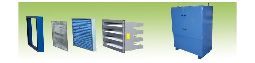 Filtros Cassete / Bolsas