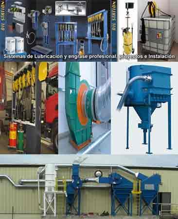 equipos industriales, aceites, aspiracion, maquinas, compresores, estaciones de aire acondicionado