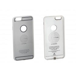 Inbay® Funda de carga iPHONE 6 PLATA