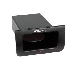 Inbay® KIT Universal posavasos diametro 76-83mm + conector alimentación USB