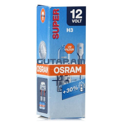 Lámpara OSRAM SUPER H3 12V 55W PK22s