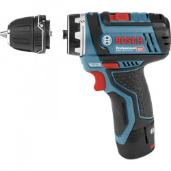 Atornillador Bosch GSR 12V-15 FC FlexiClick+ portabrocas