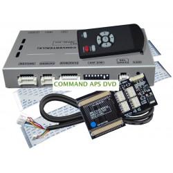 Interface video y cámara para MERCEDES COMMAND APS DVD