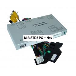 Interface video y camara VAG VW MIB STD2 PQ Nav