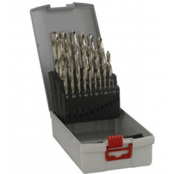 Brocas metal Bosch:Rosebox set 25unids. HSS-G 1,0- 13mm