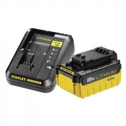 Cargador 2A con 2 baterías 2Ah