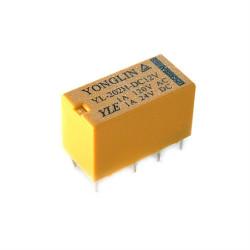 Relé 12V / 4A ensamblar - 2x contactos conmutación