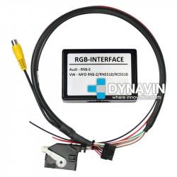 Interface camara MFD3 RNS-510 - VOLKSWAGEN, SEAT Y SKODA