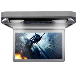 """Pantalla de techo HD 1080p 13,3"""" con luz HDMI SD USB"""
