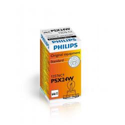 Bombilla halógena PHILIPS PSX 24W clear12V PG20-1