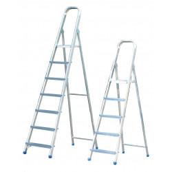 Escalera tijera Aluminio Qtec 2x6 peldaños