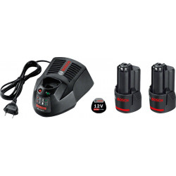 Power set 18V Litio Professional 2 BAT- 4Ah+Cargador