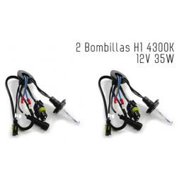 2 Bombillas de XENON H1 12V 35W 4300K