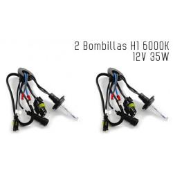 2 Bombillas de XENON H1 12V 35W 6000K