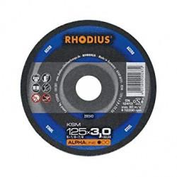 Disco corte acero Rhodius FTK33-125X3