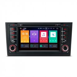 """NAVEGADOR PANTALLA TACTIL 7"""" AUDI A4 SEAT EXEO ANDROID 9.0 CARPLAY FULL RCA"""