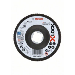Discos de láminas Bosch X-LOCK, Ø de 125 mm, G 60
