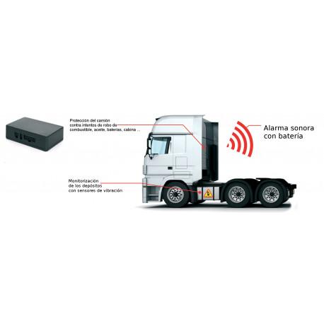 Sistema alarma 12V para depósitos combustible