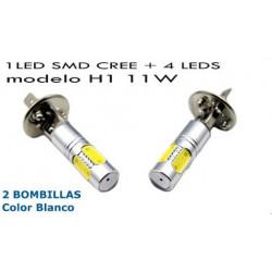 2 Bombillas de Led CREE SMD 11W H1