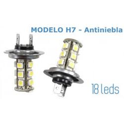 2 Bombillas H7 Faros Antiniebla
