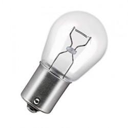 Caja 10 Lámparas halógenas mini BA15S 24V/21W S25 Transparente