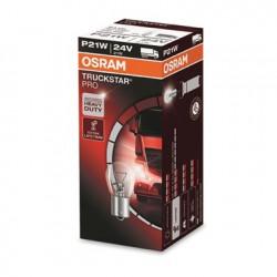 Caja 10 lámparas OSRAM TRUCKSTAR PRO BAU15s 24V 21W PY21W