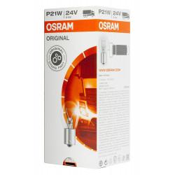 Caja 10 lámparas OSRAM BA15s 24V 21W P21W