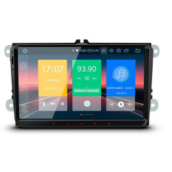 "NAVEGADOR Radio GPS Android 8.1 LCD táctil 9"" CarPlay y Full RCA"