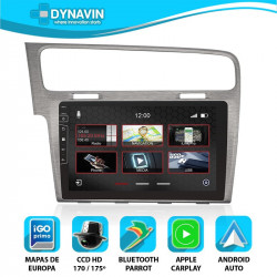 VW GOLF 7 (+2012) - DYNAVIN N7X PRO