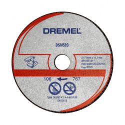 Disco de corte para metal y plástico DREMEL® DSM20 (DSM510)