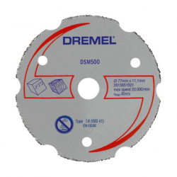 Productos Accesorios Disco de corte multiusos DREMEL® DSM20 (DSM500) Disco de corte multiusos DREMEL® DSM20 (DSM500)