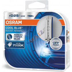 OSRAM XENARC COOL BLUE BOOST D2S DUO