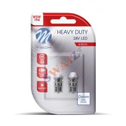 2 Bombillas LED T10 W5W 1xSMD3030 24V