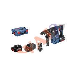 Martillo perforador a batería con SDS plus GBH 18V-26 F Professional+ 2 bat 6ah+LBoxx