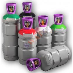 BOTELLA CARBONO GAS TRACER 13 LITROS AZOIDRO (95% N2 + 5% H2)