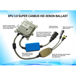Digital kit  CANBUS M-Tech SLIM XPU 3.0 BIX H4-3 6000K