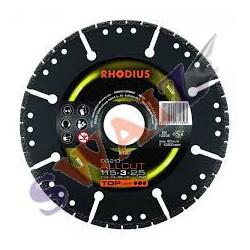 Disco diamante Rhodius 300mm LD50x7x2,5x25,4
